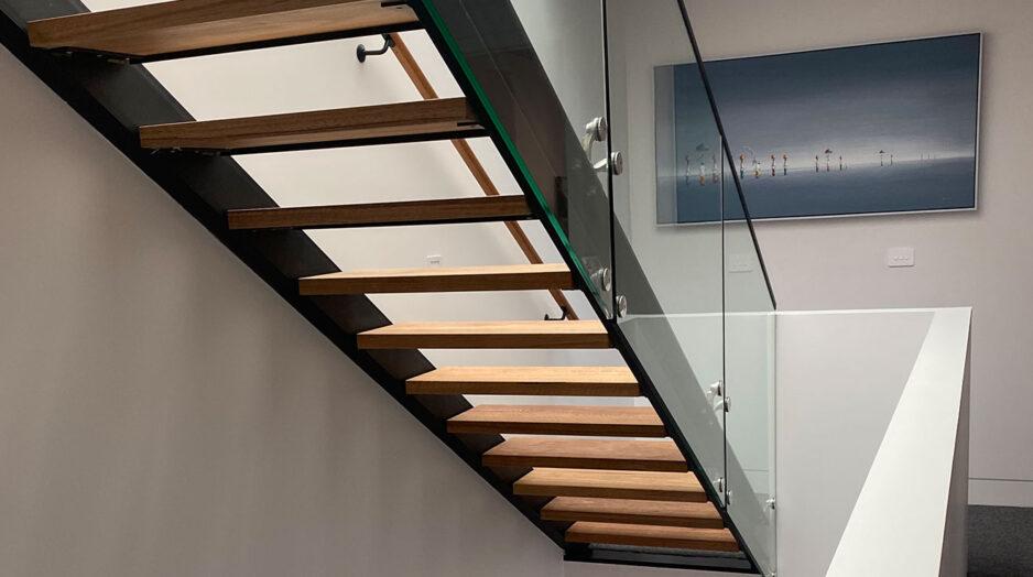 Interior staircase